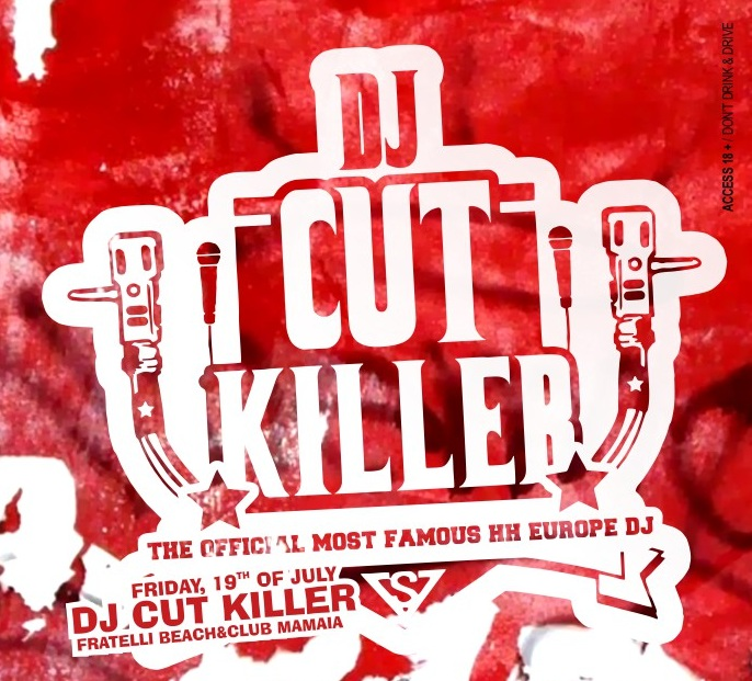DJ Cut Killer in Fratelli Beach & Club Mamaia!
